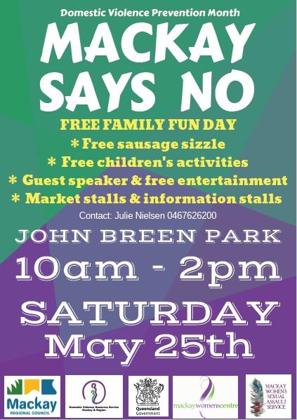 Mackay Says NO: Free Family Fun Day